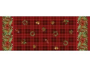Vánoční ubrus pvc Sanem 1169-00
