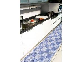 Aquamat - pěnová PVC předložka 540 - geometrický vzor, kostky