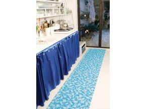 Pěnová PVC předložka do koupelny, mozaika 569