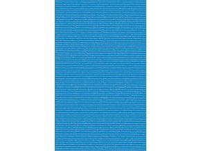 Pěnová PVC předložka - do koupelny, do kuchyně - jednobarevná 406-8 modrá