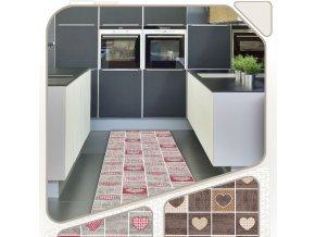 Terramat - extra měkká pěnová PVC předložka - do koupelny, kuchyně - 1024