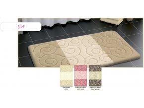 Confetti koupelnová předložka, Sareha, sprirály starorůžová