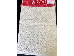 Koupelnová předložka krémová 100% bavlna