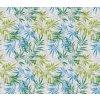 palmové listí pvc ubrus fantastik 1017-1