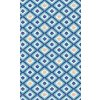 modrá pěnová předložka do koupelny retro 4015-1 aquamat akvamat erviplas