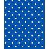modrý s bílým puntíkem pvc ubrus s textilním podkladem Sareha 1061-7