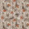 pvc ubru s textilním podkladem palmy a ibiškový květ