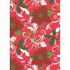 PVC ubrus vánoční 847 (květ vánoční růže) -- ks -- 140x180 cm