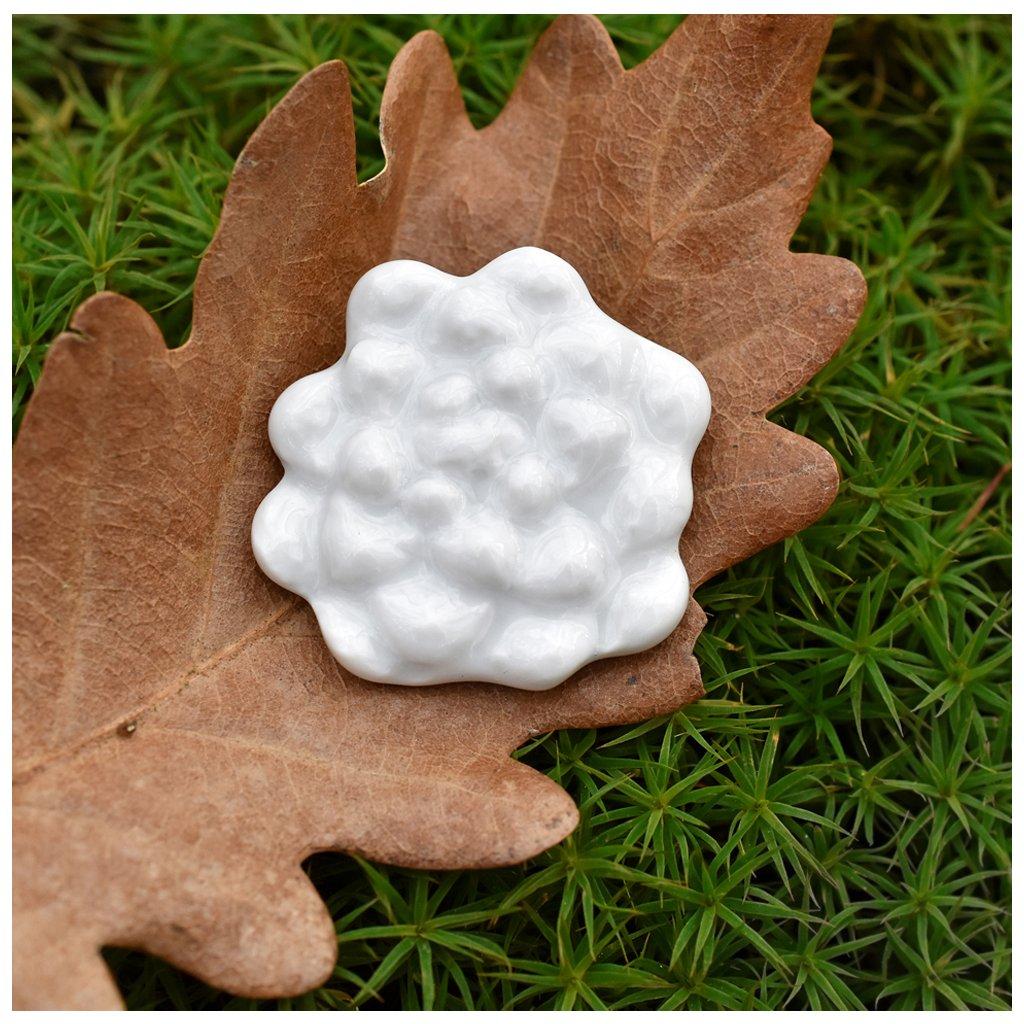 porcelánová brož lesněnky