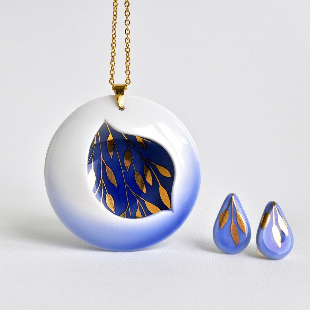porcelánová souprava šperků Introvert