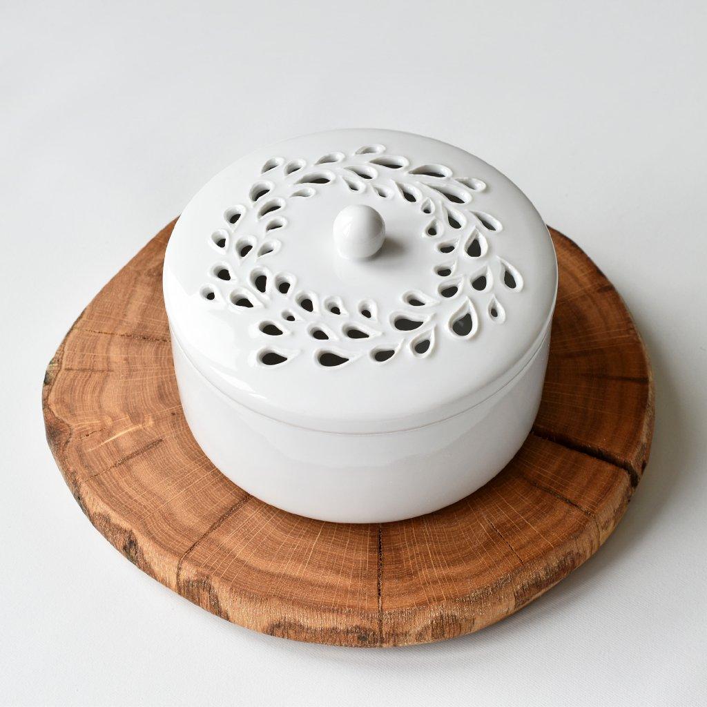 madeira porcelánová dóza