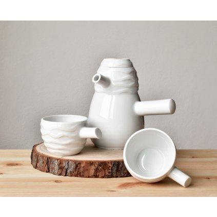 Originální porcelánová čajová souprava