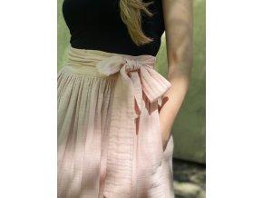 Mušelínová sukňa ružová (BIO)