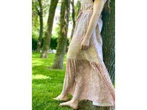 Šaty ružové lesná víla