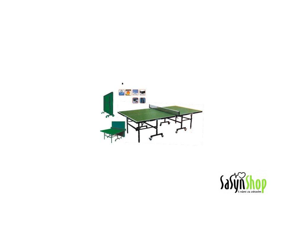Giant Dragon stůl stolní tenis 2001 Green s pojezdem