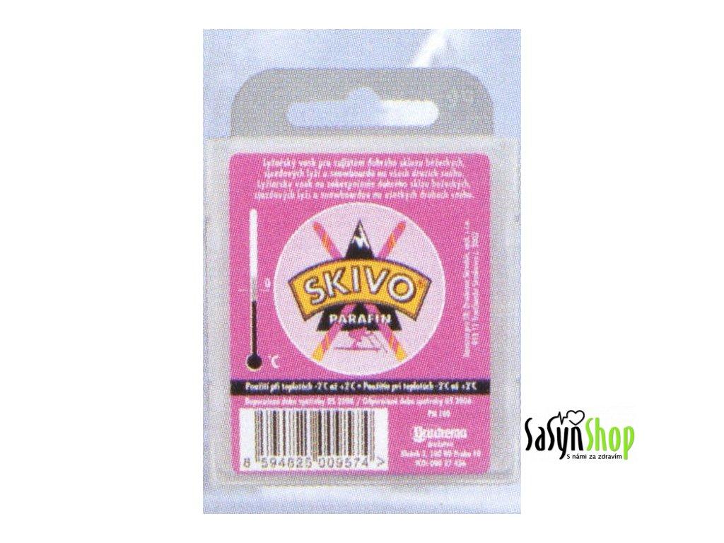 Lyžařský vosk SKIVO PA fialový