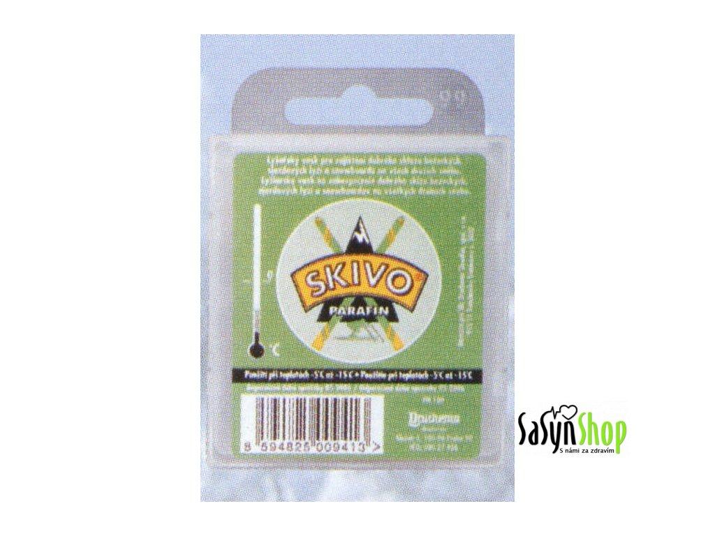 Lyžařský vosk SKIVO PA zelený
