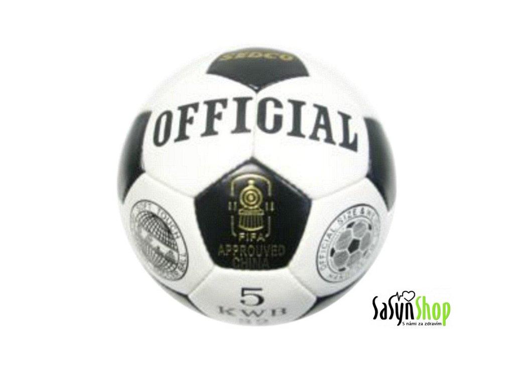 Fotbalový míč OFFICIAL SEDCO KWB32 vel. 5