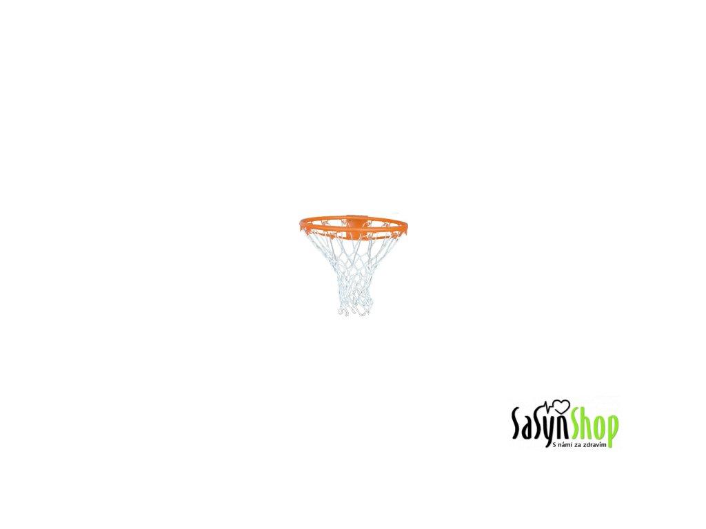 Basketbalová síťka bílá