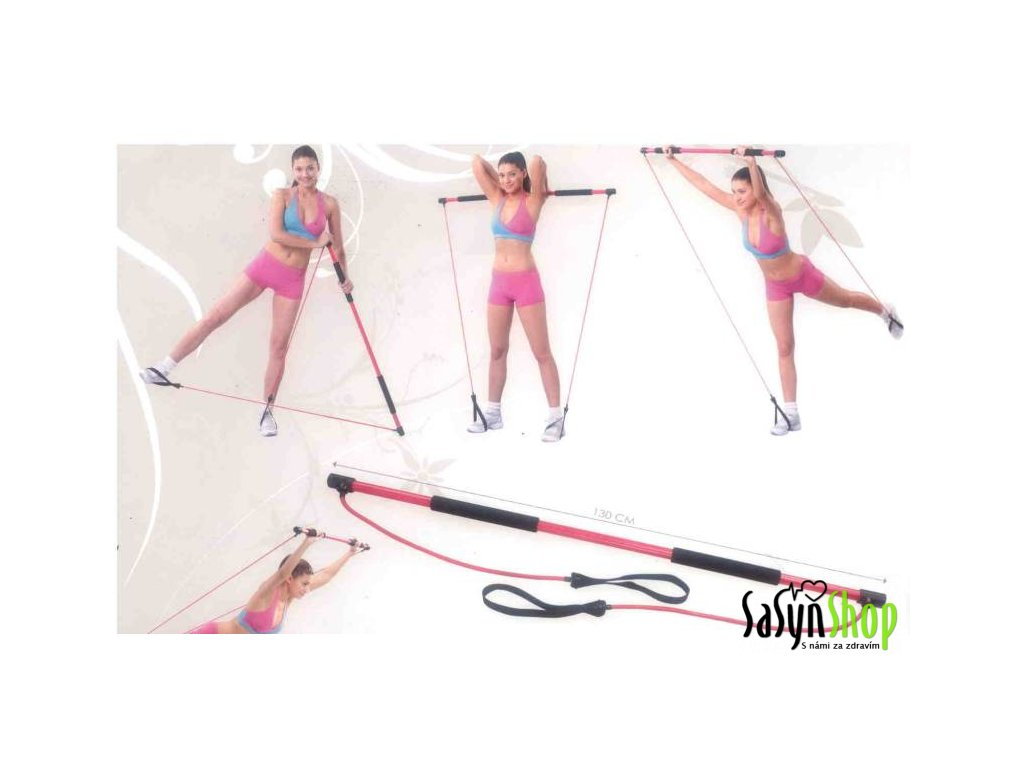 Aerobic tyč GYMEX 130 cm