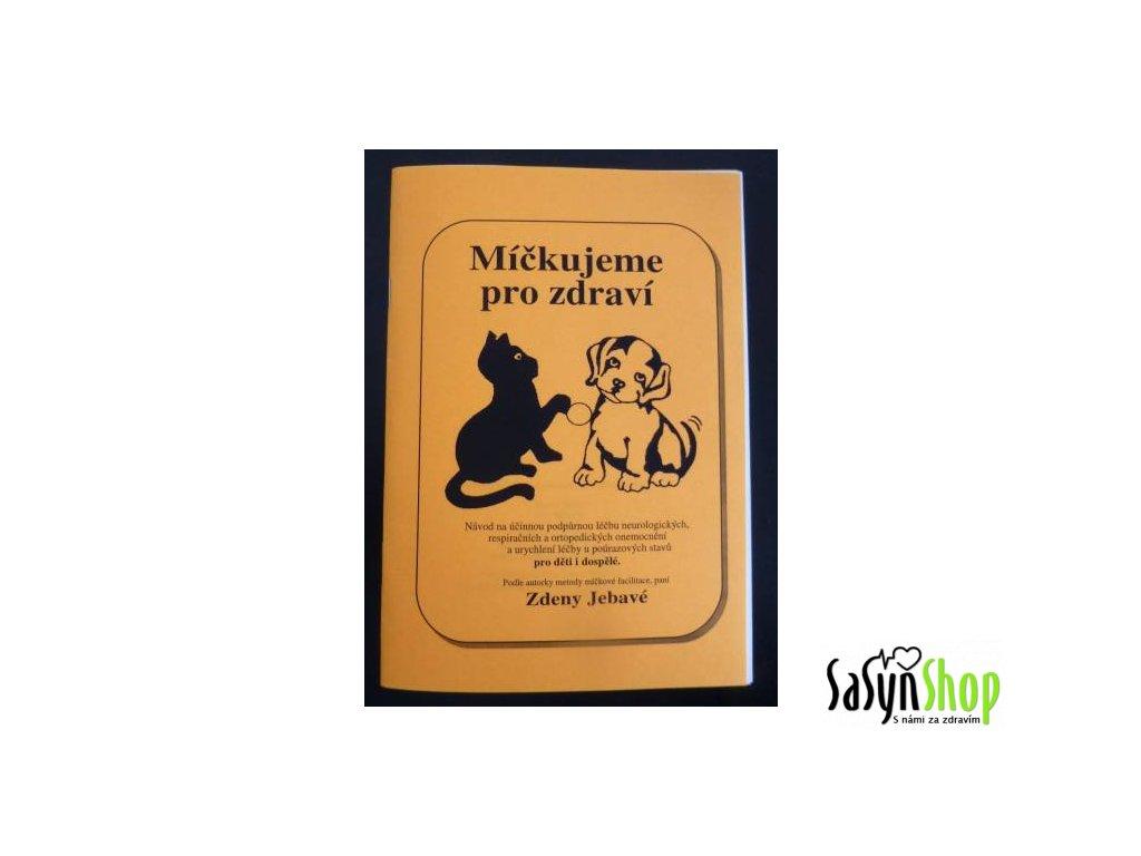 Brožura Míčkujeme pro zdraví
