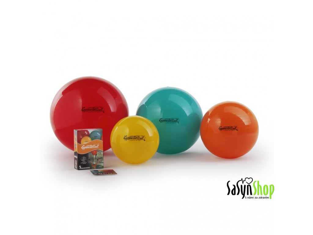 Ledragomma Gymnastik Ball Standard, 75 cm