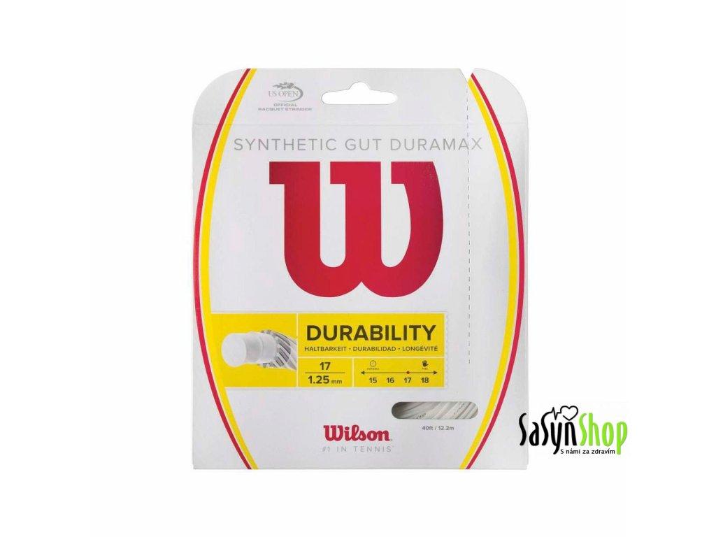 Tenisový výplet WILSON SYNTHETIC GUT DURAMAX 17