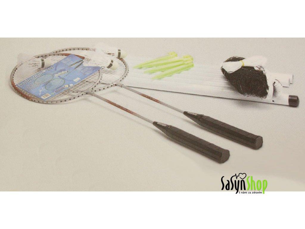 Badminton set 2 hráči + síť