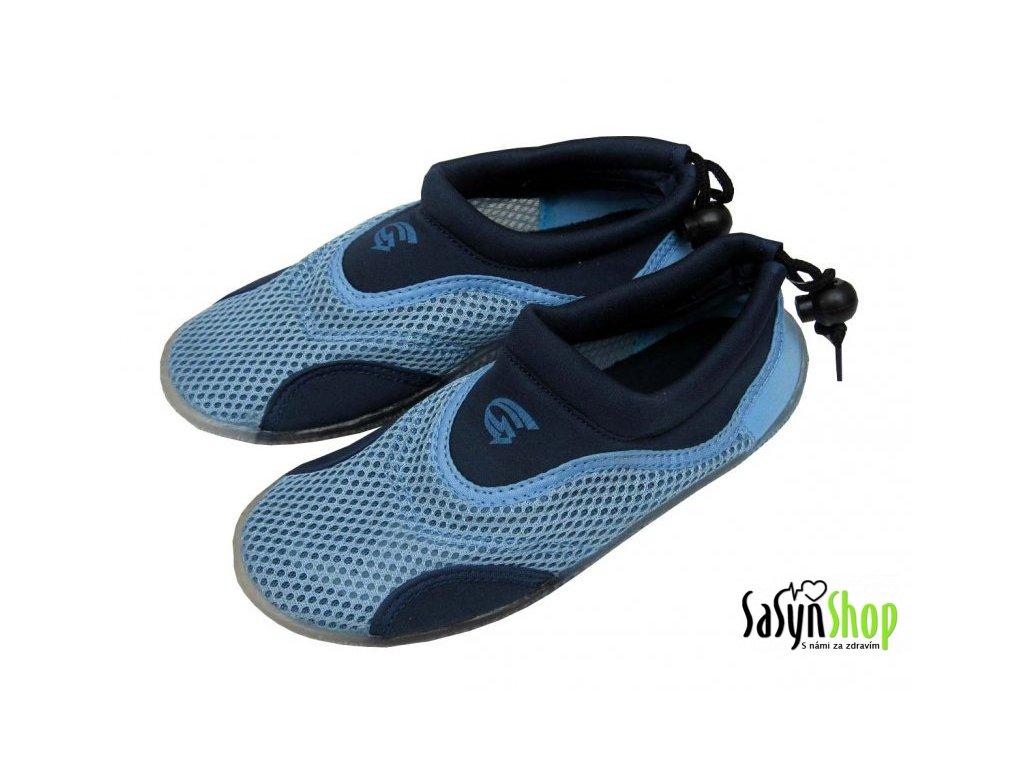Plážová neoprenová obuv ALBA, modrá