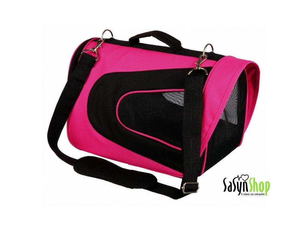 TRIXIE ALINA bag, nylonová přepravní taška se síťkou 27x27x35 cm