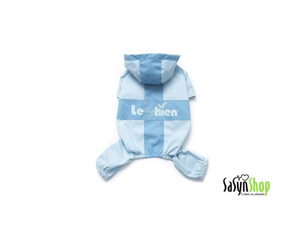 Le Chien Modrý overal do deště s kapucí 30 cm (M)