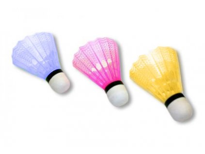 Míček badmintonový 2710-6C - barevné 6ks