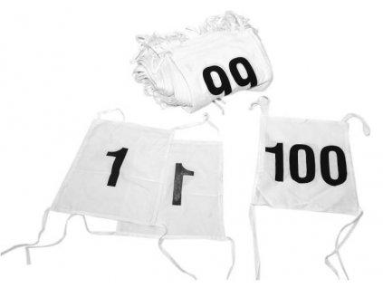 startovni startovaci cisla oboustranna 1 100