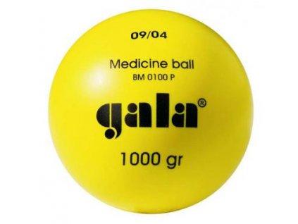 Medicinální míč BM 0015P 1,5 kg plastový