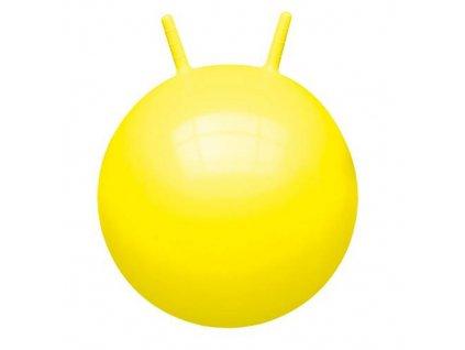 HOP Unicolor John 45-50 cm skákací míč s rukovítky