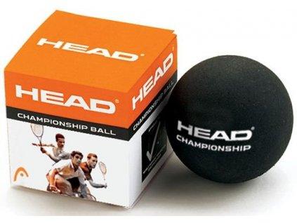 Míček squash Head Championship 2 žluté tečky