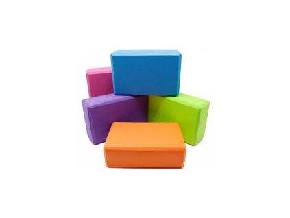 Blok EVA Yoga, 22 x 14 x 7,5 cm