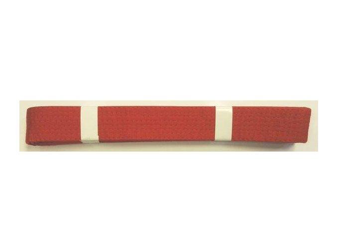 Pásek ke kimonu JUDO v.5 ČERVENÁ