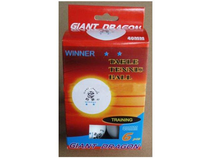 Míčky stolní tenis GD Winner 2*