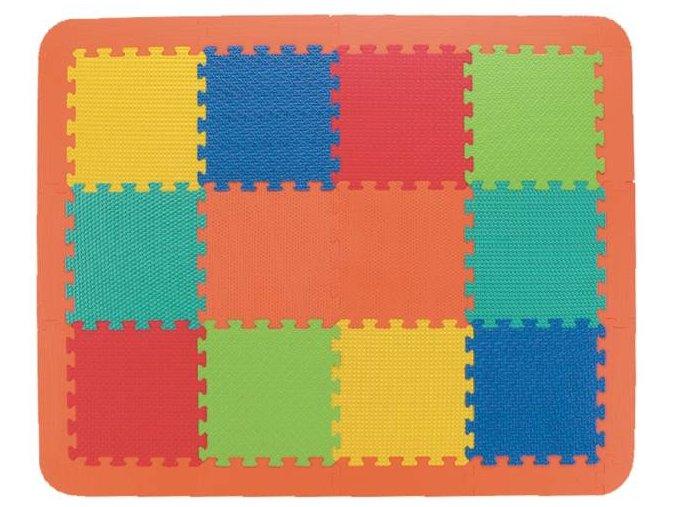 Pěnová žíněnka 30x30x1,2 cm, 12 ks