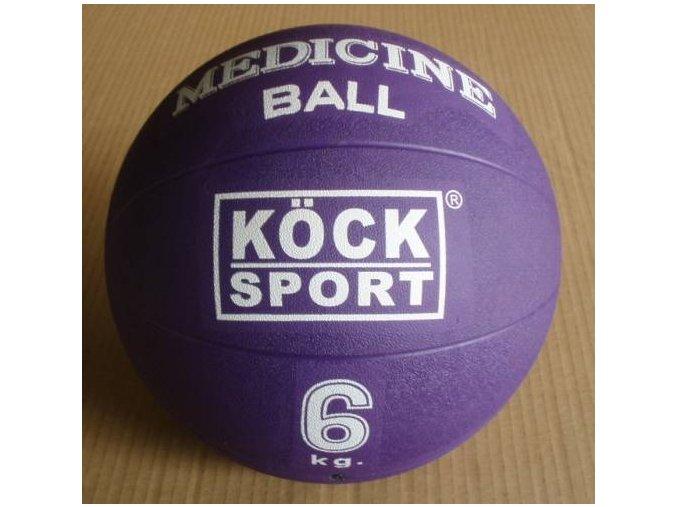 Medicinální míč 6 kg gumový