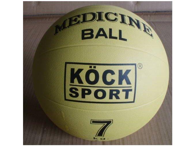 Medicinální míč 7 kg gumový
