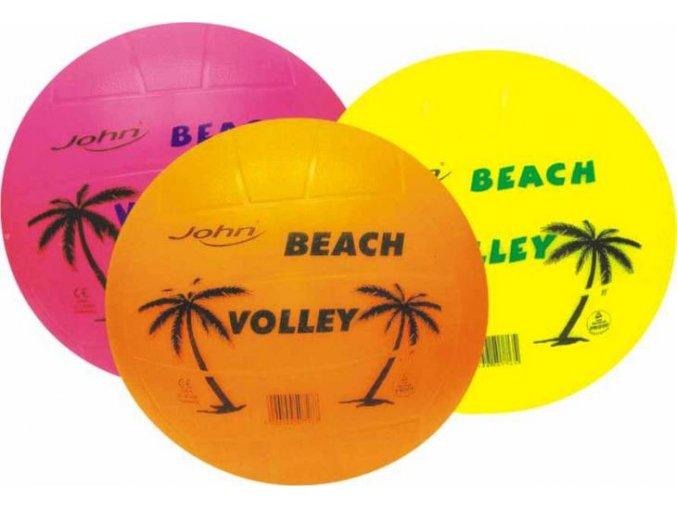 John volejbalový míč Beach NEON, 22 cm