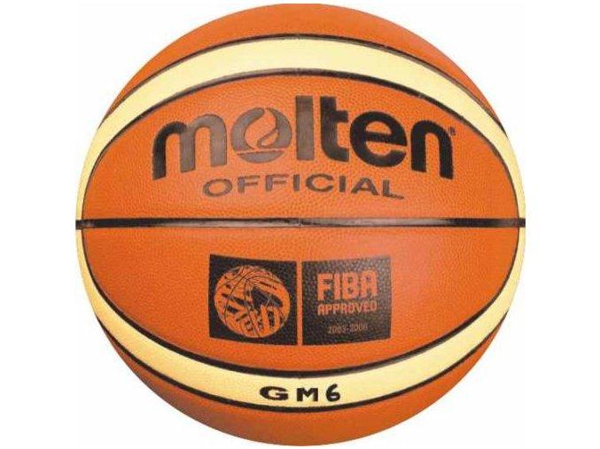 Basketbalový míč MOLTEN serie BGM