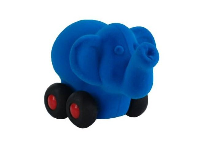slon na koleckach velky modry 20129