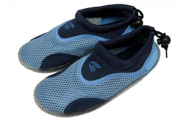 Dětské neoprenové boty do vody Alba, modré