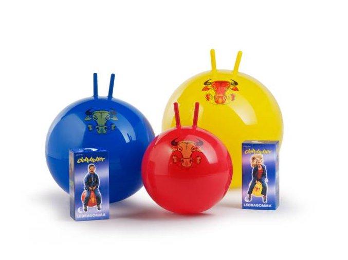 Globetrotter Super skákací míč s rukovítky