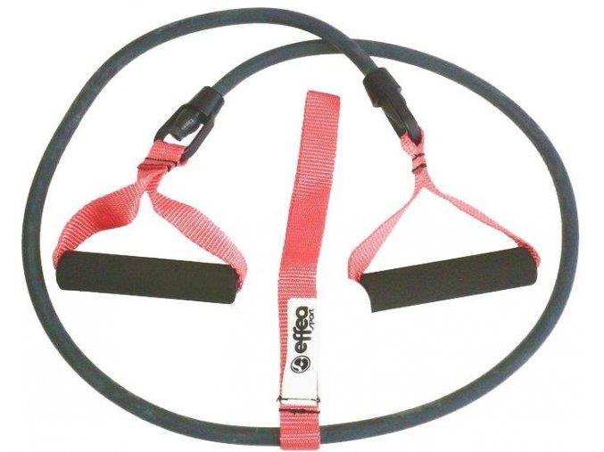 Posilovač Elastické lano s úchopy