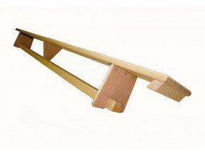 Lavička švédská 3 m gymnastická s možností uchycení za žebřiny