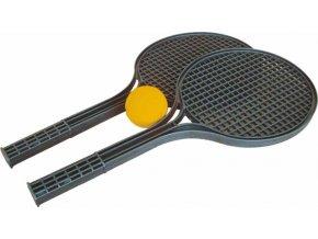 Soft tenis SET černý